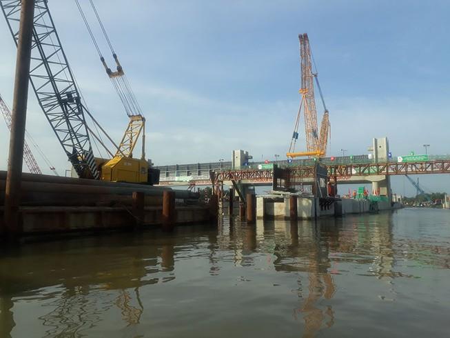 TP.HCM: Sắp vận hành dự án cống ngăn triều 10.000 tỉ