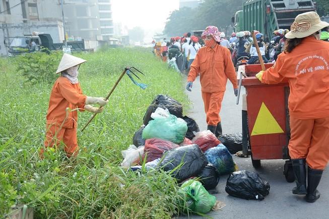 Đảm bảo vệ sinh, mỹ quan đô thị dịp Tết