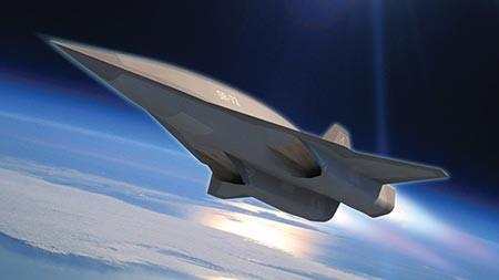 Mỹ xuất trình siêu máy bay không người lái SR-72