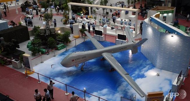 Lộ diện máy bay không người lái lớn nhất Đài Loan
