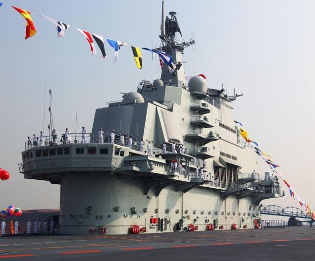 Đài Loan: Trung Quốc đang xây dựng 2 tàu sân bay