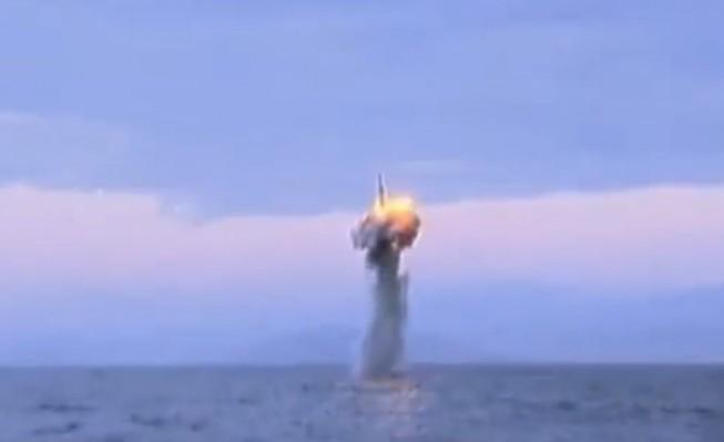 Triều Tiên công bố video thử tên lửa đạn đạo