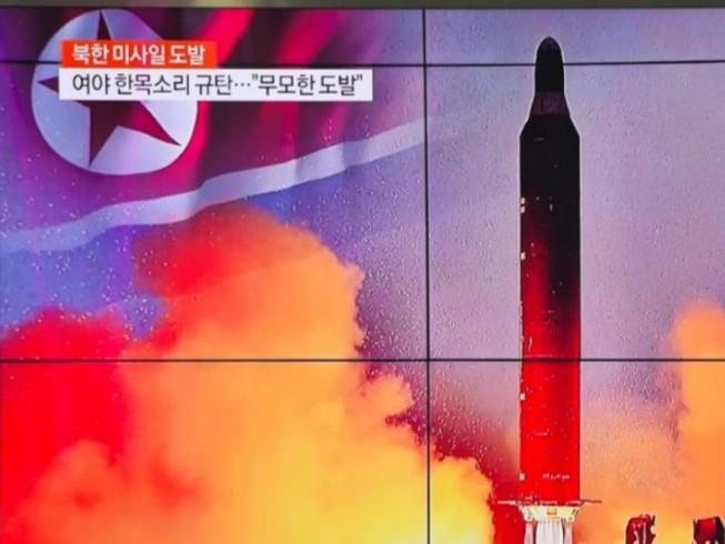 Tên lửa mới của Triều Tiên tầm bắn hơn 2000 km