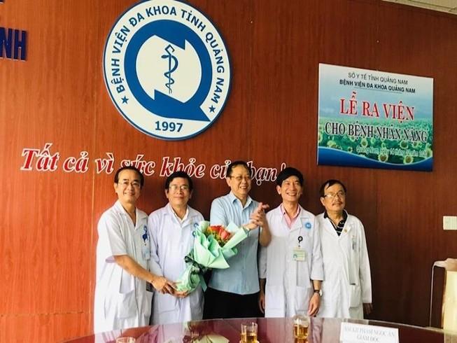 BV đa khoa Quảng Nam cứu sống 1 bệnh nhân ngưng tim, ngưng thở