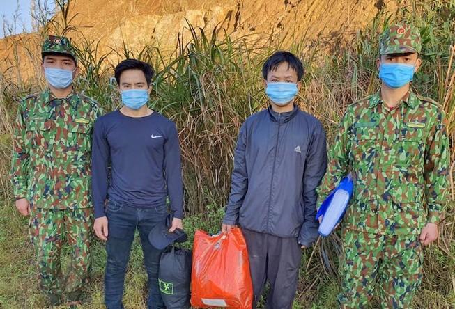 Bắt giữ 2 người nhập cảnh trái phép vào Quảng Nam