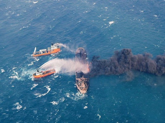 Tràn dầu ngoài khơi Trung Quốc lan rộng nhanh chóng