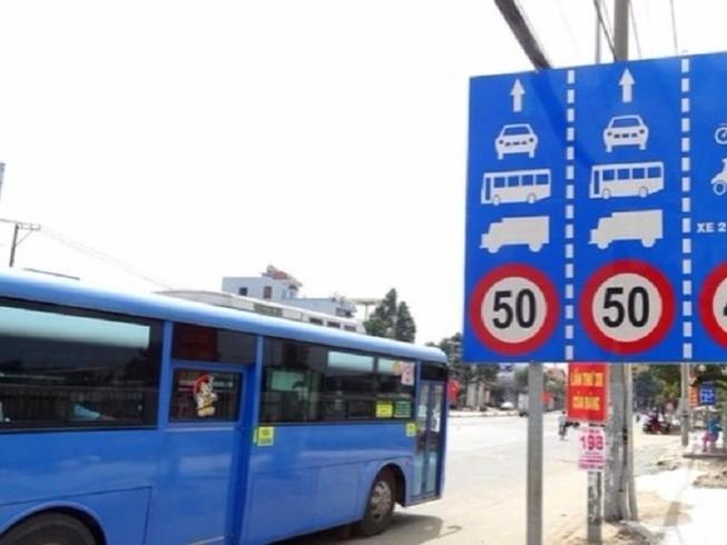 Quy định mới về tốc độ xe cơ giới khi lưu thông