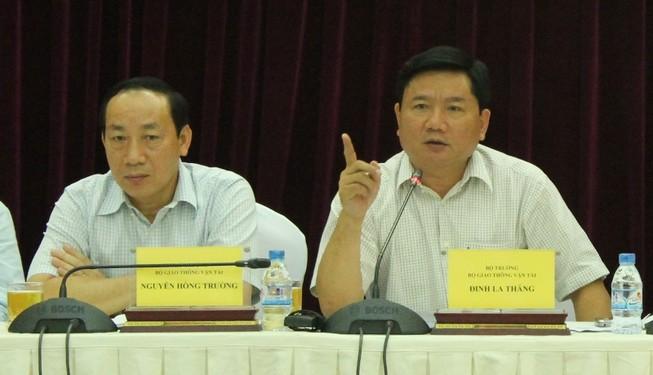 Bộ trưởng Thăng phê bình nặng Tổng Cục đường bộ