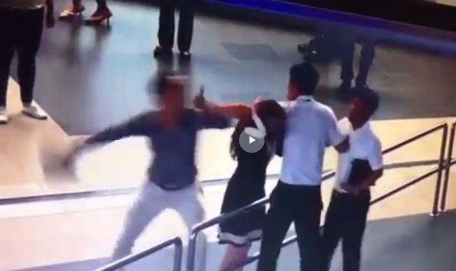 Vụ đánh nữ nhân viên sân bay: Hình sự hay hành chính?