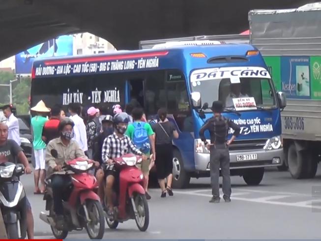 Xử lý dấu hiệu bảo kê xe vi phạm ở Hà Nội