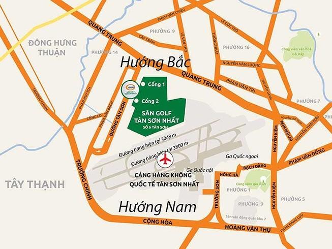 Vì sao phải mở rộng sân bay Tân Sơn Nhất về hướng Nam?