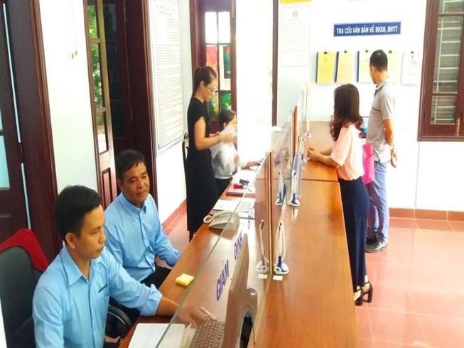 Giảm 58 bảo hiểm xã hội thành phố, thị xã trực thuộc tỉnh