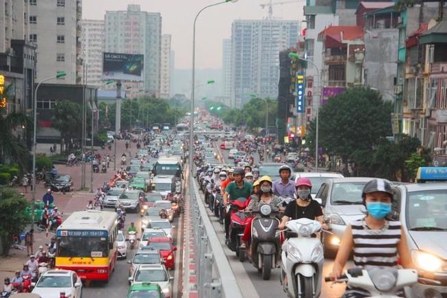 Bộ GTVT: Cần xác định khu vực, lộ trình 'cấm' xe máy ở TP.HCM