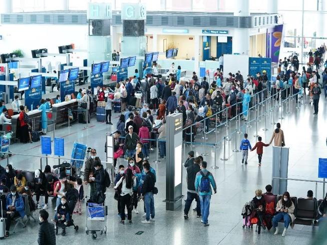 Sân bay Nội Bài sẽ đón bốn chuyến bay không có khách nhập cảnh
