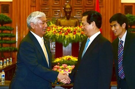 Thủ tướng tiếp bộ trưởng Bộ Quốc phòng Nhật Bản
