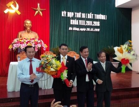 Tiến sĩ kinh tế làm phó chủ tịch UBND TP Đà Nẵng