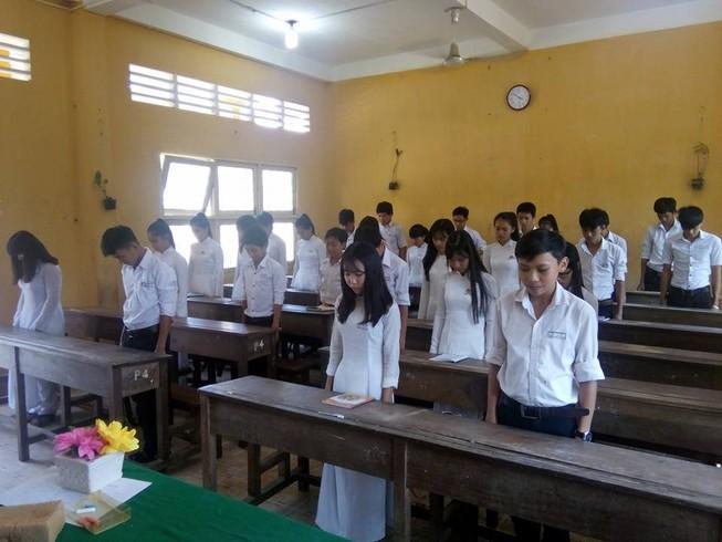 Xúc động: Lớp học ở đảo Phú Quốc tưởng niệm ngày 17-2