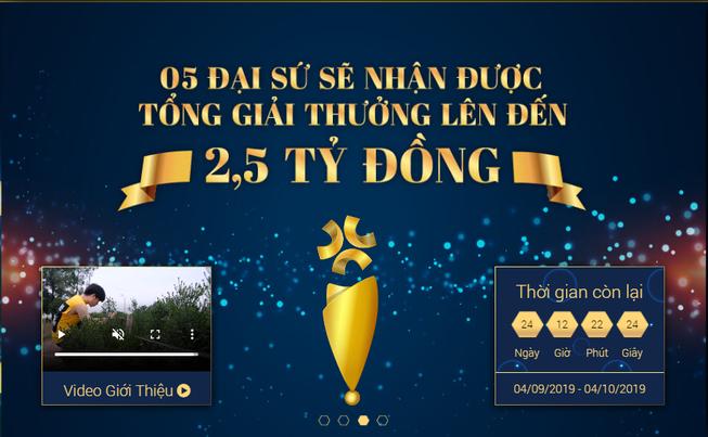 2,5 tỉ đồng tìm kiếm đại sứ E-learning Việt Nam