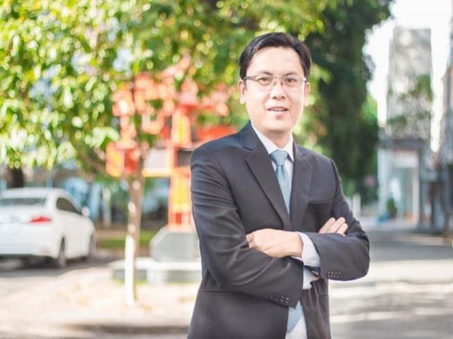 PGS-TS Nguyễn Minh Tâm - tân phó giám đốc ĐH Quốc gia TP.HCM - Ảnh: ĐHQG cung cấp