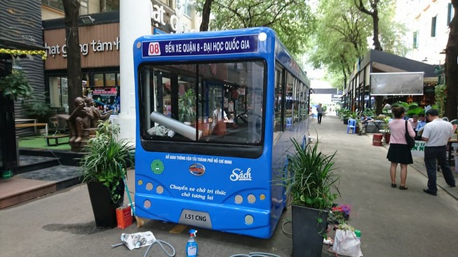 TP.HCM sắp khai trương mô hình xe buýt sách