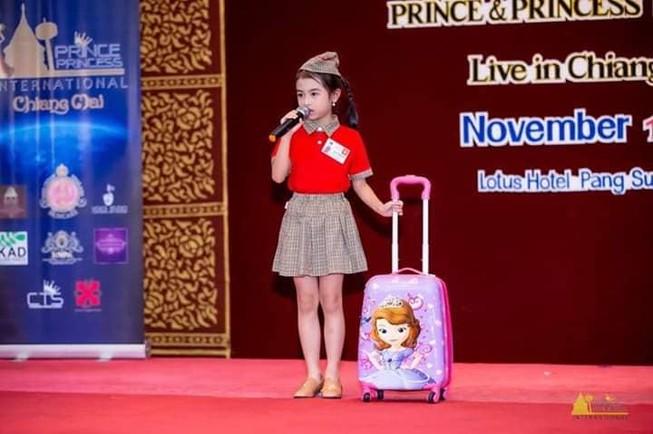 Hành trình của Đan Thanh Hoa hậu nhí châu Á-Thái Bình Dương