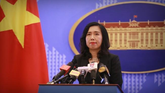 VN nói về việc các nước diễn tập bắn đạn thật ở biển Đông