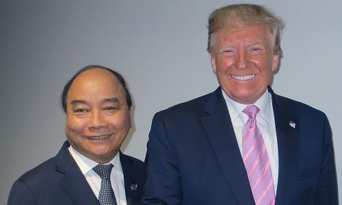 Tổng thống Donald Trump dành tình cảm tốt cho dân Việt Nam