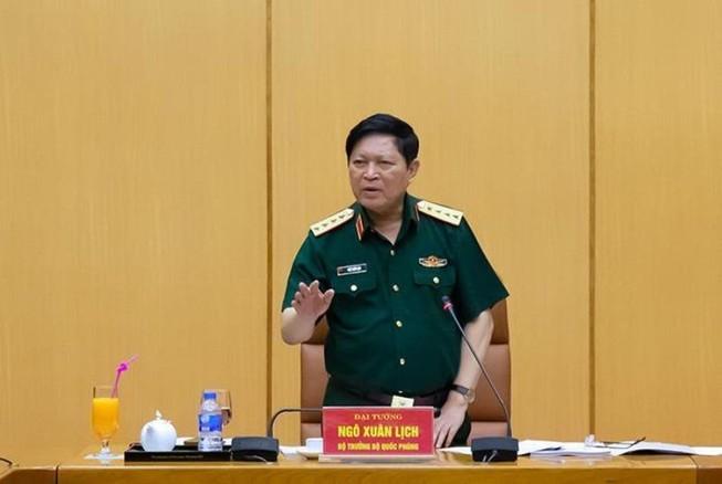 Đại tướng Ngô Xuân Lịch giao nhiệm vụ cho Quân chủng PK-KQ