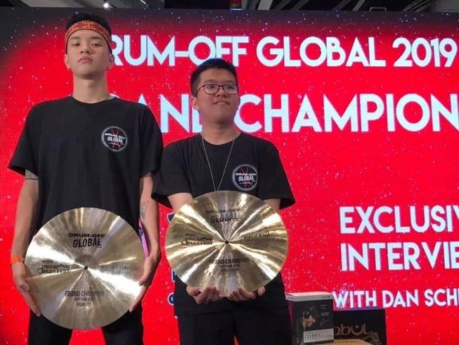 Thí sinh Việt Nam đạt giải quán quân Drum Off Global 2019