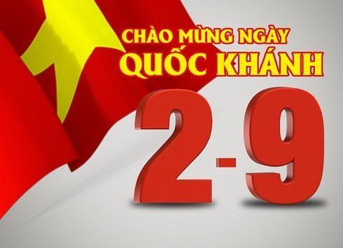 Lãnh đạo Nga, Trung Quốc... gửi thư mừng Quốc khánh Việt Nam