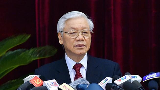 Tổng bí thư, Chủ tịch nước gửi điện mừng Trung Quốc