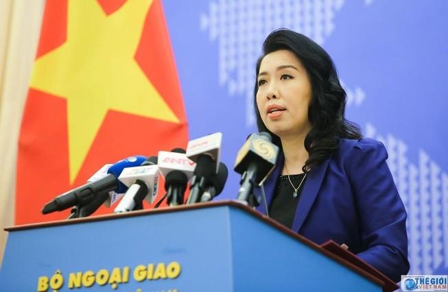 Việt Nam bác bỏ phát biểu của Trung Quốc về Trường Sa
