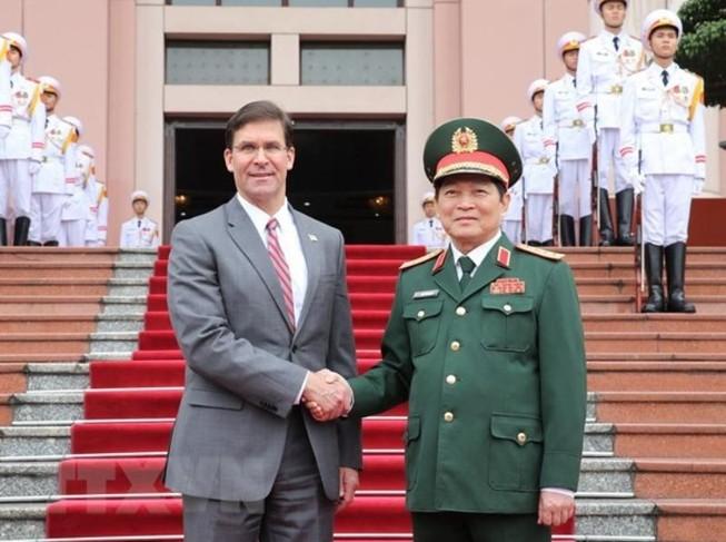 Bộ Ngoại giao nói về chuyến thăm của Bộ trưởng Quốc phòng Mỹ
