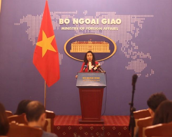 Bộ Ngoại giao nói về hợp tác an ninh quốc phòng Việt-Mỹ