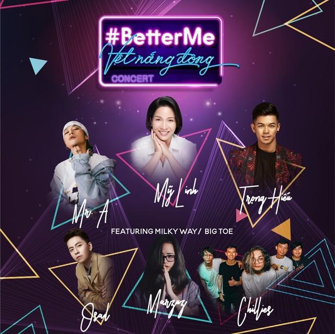 5.000 người dự nhạc hội 'Vệt nắng đông', thông điệp #BetterMe
