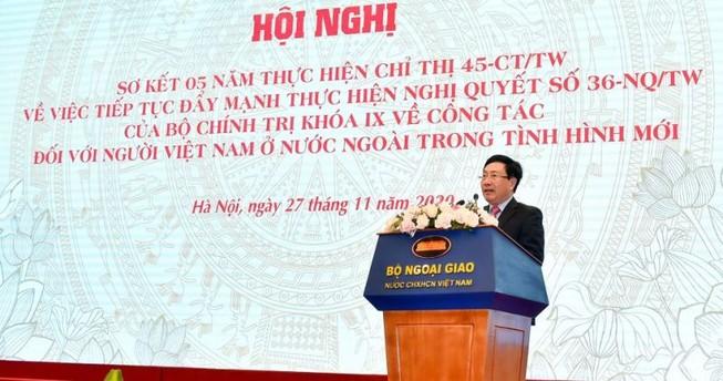 Phó Thủ tướng: Xuất hiện thế hệ trí thức gốc Việt trẻ tài năng