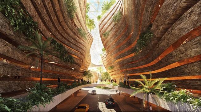 Kiến trúc và nghệ thuật đương đại kết hợp trong 'Lộ'