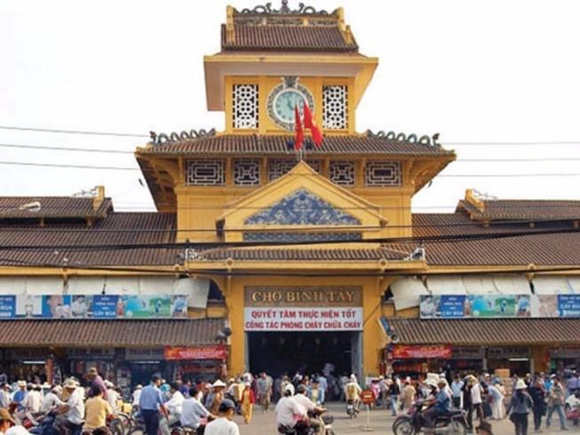 Chợ Bình Tây được xếp hạng di tích cấp thành phố