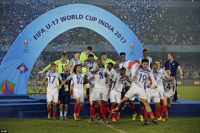 Ngược dòng không tưởng, Anh vô địch World Cup