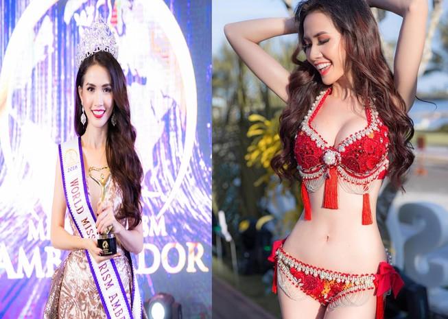 Ngắm Phan Thị Mơ - tân Hoa hậu Đại sứ du lịch thế giới