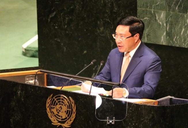 Phó Thủ tướng kêu gọi tuân thủ luật pháp quốc tế ở biển Đông