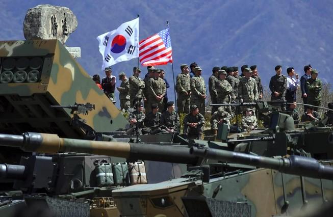Triều Tiên tố Mỹ 'nuốt lời' khi tập trận chung với Hàn Quốc