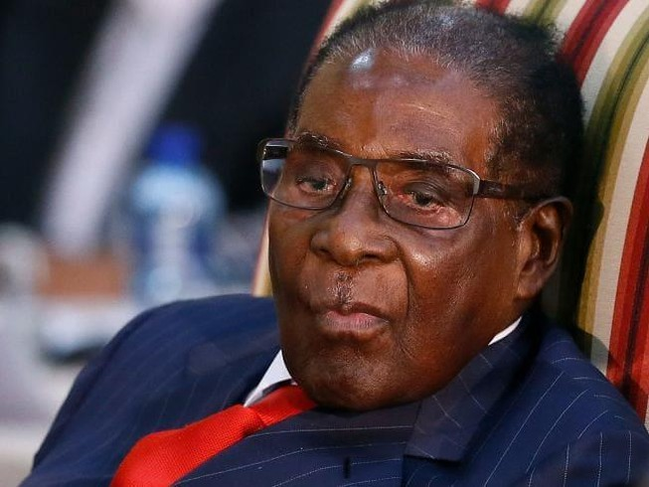 Tổng thống Mugabe. Ảnh: AFP