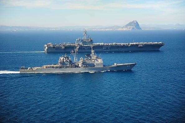 Saudi Arabia tham gia tuần tra trên biển với Mỹ