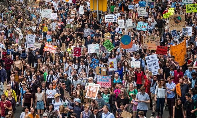 185 nước tham gia biểu tình chống biến đổi khí hậu