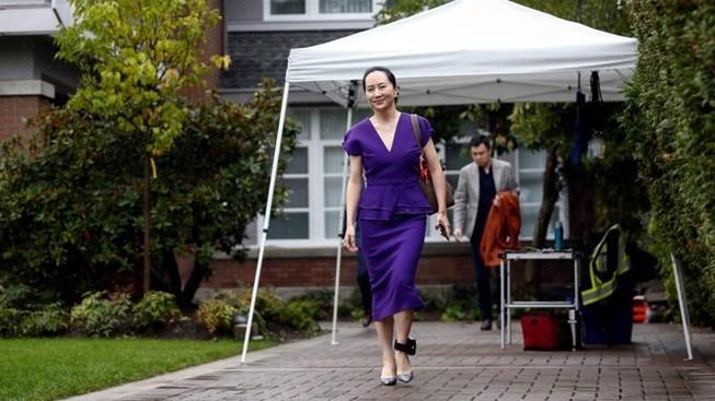 Huawei được quyền thu thập thêm tài liệu về vụ bắt bà Mạnh