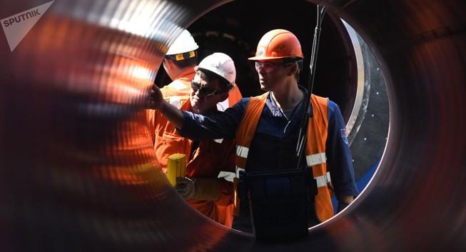 Mỹ dọa trừng phạt các nhà thầu đường ống dẫn khí Nga-châu Âu