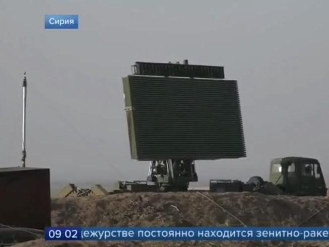 Radar JYL-1 của Trung Quốc. Ảnh: CHANNEL ONE