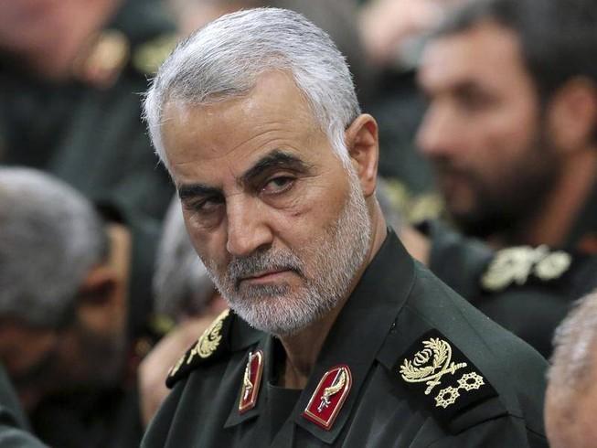 Thiếu tướng Qassem Soleimani thuộc Vệ binh Cách mạng Hồi giáo Iran. Ảnh: AP