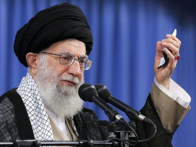Lãnh tụ tối cao Iran, Đại giáo chủ Ali Khamenei. Ảnh: AP